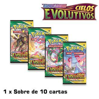 TCG POKEMON CARD GAME Espada y Escudo Cielos Evolutivos Paquete de Mejora (Spanish)