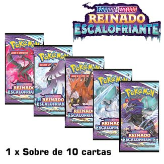 TCG POKEMON CARD GAME Espada y Escudo Reinado Escalofriante Paquete de Mejora (Spanish)