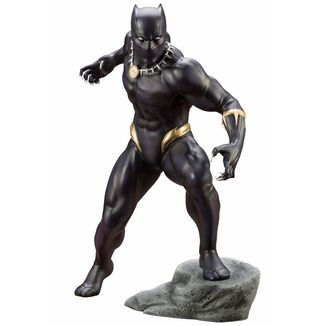 Black Panther Figure ARTFX+ Avenger Series Marvel Comics