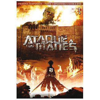 Ataque A Los Titanes Primera Temporada Parte 1 DVD