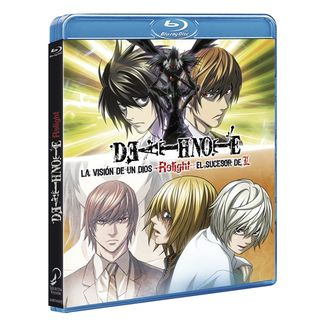 Bluray Death Note Relight Vision of a God + Successor to L