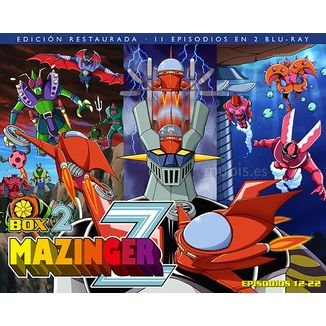 Mazinger Z Box 2 Bluray Restored Edition