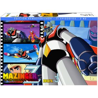 Mazinger Z Box 3 Bluray Restored Edition