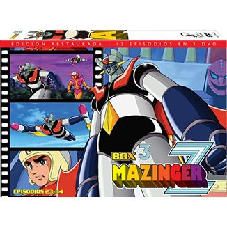 Mazinger Z Box 3 DVD Restored Edition