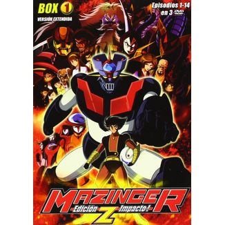 Box 1 Mazinger Z DVD Impact Edition