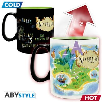 Neverland Heat Change Mug Peter Pan Disney