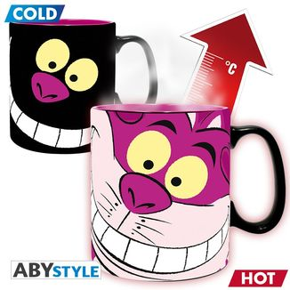 Cheshire Cat Heat Change Mug Alice in Wonderland Disney