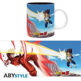 Taza Goku VS Vegeta Dragon Ball Z