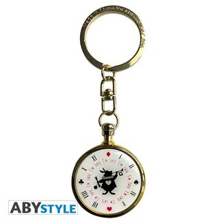Rabbit's Clock Keychain Alice in Wonderland
