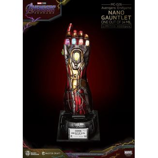 Nano Gauntlet One Out Of 14 Mil Replica Avengers Endgame Marvel Comics Master Craft