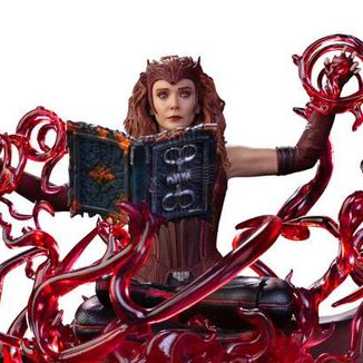 Scarlet Witch WandaVision Statue Marvel Comics Deluxe Art Scale