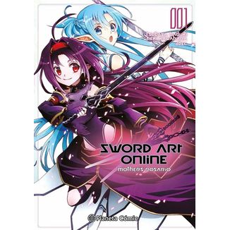 Sword Art Online Mother's Rosario #01 (manga) Manga Oficial Planeta Comic (spanish)