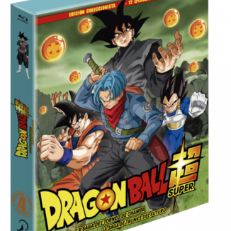 Dragon Ball Super - Box 4 Edición coleccionista 2BR + Libro - 13 episodios Bluray