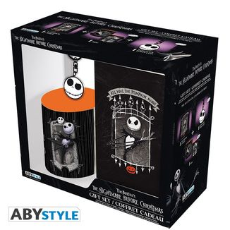Mug, Keychain and Notebook Jack Skellington Nightmare Before Christmas