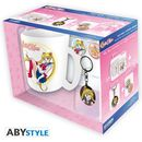 Bunny Mug, Keychain and Badges Sailor Moon