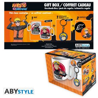 Naruto Mug, Keychain and Badges Naruto Shippuden