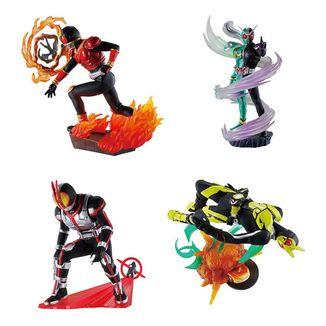 Kamen Rider Figure Set Petitrama Series Legend Rider Memories