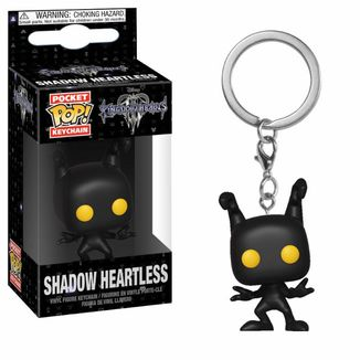 Shadow Heartless Keychain Kingdom Hearts POP!