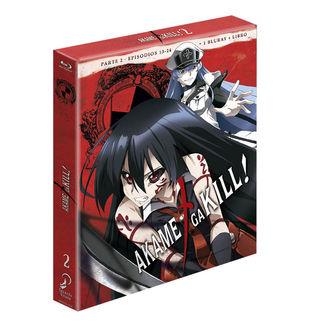 Akame Ga Kill Edicion Coleccionista Parte 2 Bluray