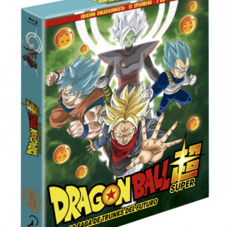 Dragon Ball Super - Box 5 Edición coleccionista 2BR + Libro - 12 episodios Bluray