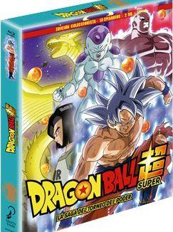 Box 10 Dragon Ball Super Collector's Edition 2BR + Book 13 episodes Bluray