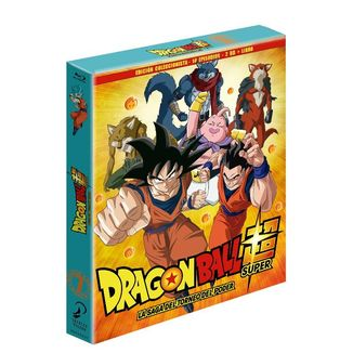 Dragon Ball Super Box 7 Edición coleccionista 2BR + Libro 14 Episodios Bluray