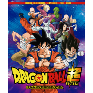 Dragon Ball Super Box 8 Edición coleccionista 2BR + Libro 14 Episodios Bluray