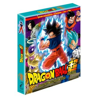 Dragon Ball Super Box 9 Edición coleccionista 2BR + Libro 14 Episodios Bluray