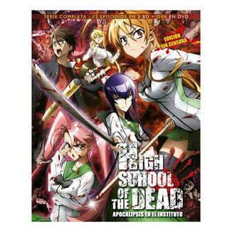 High School of The Dead Serie Completa Bluray