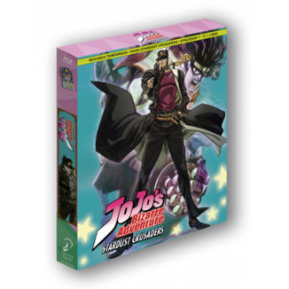 Jojo's Bizarre Adventure Temporada 2 Stardust Crusaders Parte 1 Bluray