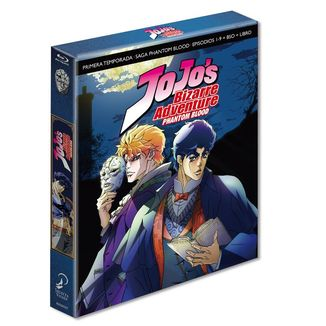Jojo's Bizarre Adventure Temporada 1 Phantom Blood Bluray