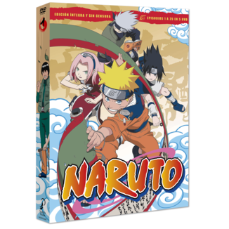 Naruto DVD Box 1