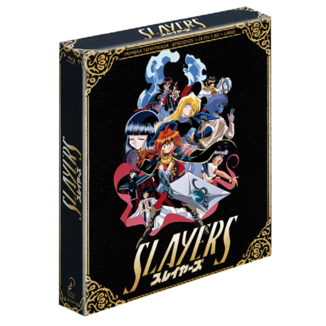 Slayers Collectors Edition Bluray