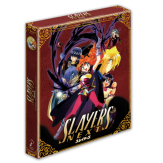 Slayers NEXT Segunda Temporada Edición Coleccionista Bluray