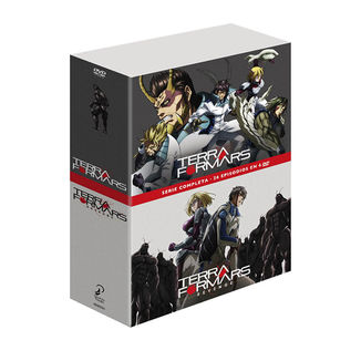 Terra Formars Serie Completa Edición Coleccionista Bluray