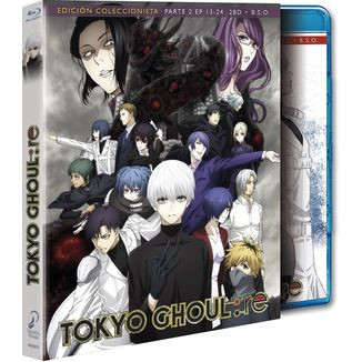 Part 2 Tokyo Ghoul: Re Collector's Edition Bluray