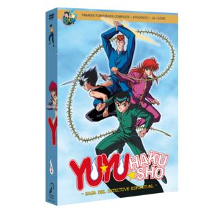 Yu Yu Hakusho Box 1 DVD
