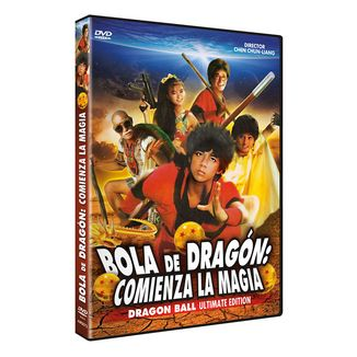 Dragon Ball The Magic Begins DVD