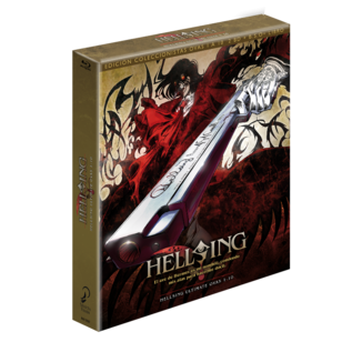 Hellsing Ultimate Bluray Coleccionista