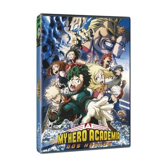 My Hero Academia Two Heroes DVD