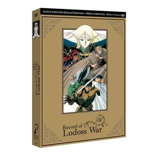 Complete Serie DVD Record of Lodoss War 30th Aniversary