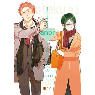 Qué difícil es el amor para un otaku #07 Manga Oficial ECC Ediciones