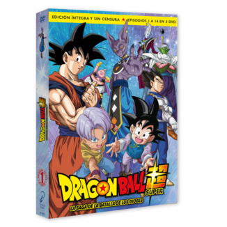 Dragon Ball Super Box 1 DVD
