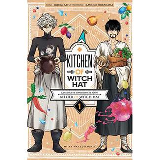 Kitchen of Witch Hat #01 Manga Oficial Milky Way Ediciones
