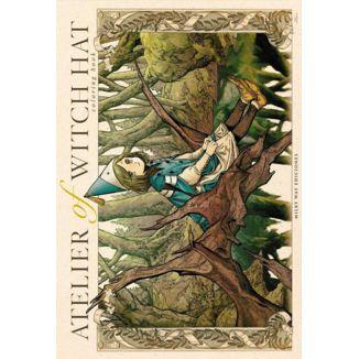 Atelier of Witch Hat Coloring Book Manga Oficial Milky Way Ediciones (Spanish)