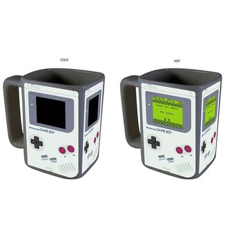 Game Boy 3D Heat Change Mug Nintendo