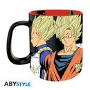 Taza Saiyans VS Cyborgs Dragon Ball Z