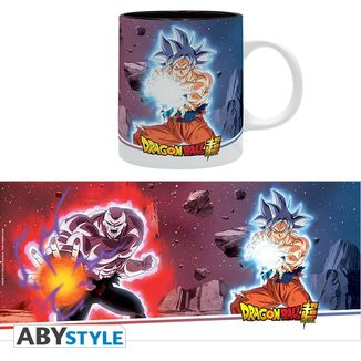 Goku Ultra Instinct vs Jiren Mug Dragon Ball Super
