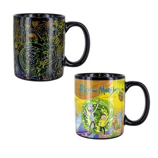 Portals 2 Heat Change Mug Rick and Morty