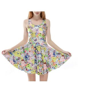 Vestido Pokemon - Mix